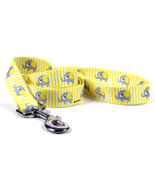 XSmall Yellow Elephant Standard Dog Leash 5 foot - $9.99