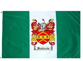 Sowards Coat of Arms Flag / Family Crest Flag - $29.99