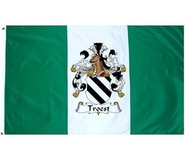Troest Coat of Arms Flag / Family Crest Flag - $29.99