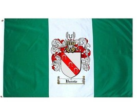 Varow Coat of Arms Flag / Family Crest Flag - $29.99