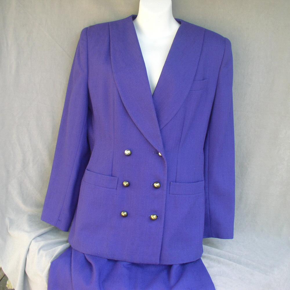 Purple Suit Womans Two Piece by Worthington