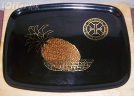 """EAMES ERA MID CENTURY MODERN- COUROC PINEAPPLE IN A BASKET TRAY 12 1/2""""... - $24.95"""
