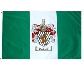 Turbyfill Coat of Arms Flag / Family Crest Flag - $29.99