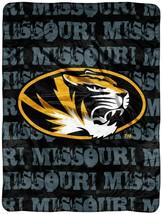 University Of Missouri Tigers Micro Raschel Throw Blanket measures 46 x 60 inch - $18.76