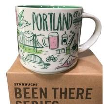 New Starbucks Portland Oregon 14oz Coffee Mug - Been There Series - $23.70