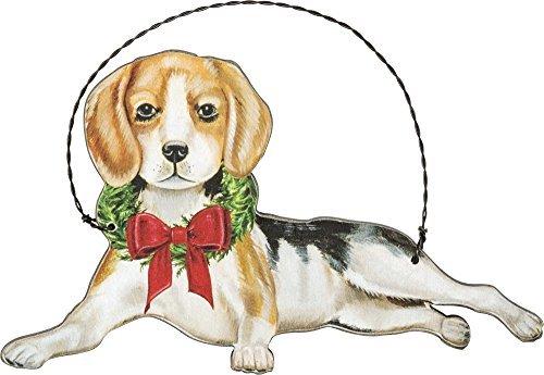 Primitives by Kathy Ornament - Christmas Beagle Home Decor - $16.99