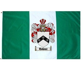 Towner Coat of Arms Flag / Family Crest Flag - $29.99