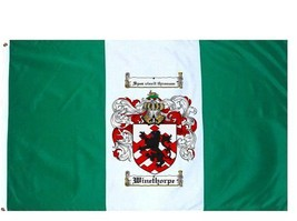 Winethorpe Coat of Arms Flag / Family Crest Flag - $29.99