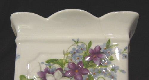 St. George Fine Bone China England Small Porcelain Vase