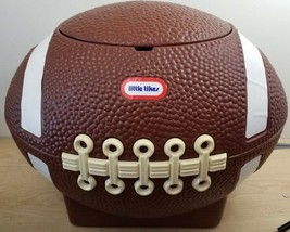 Little Tikes Football Shaped Toy Box Storage Vintage Tailgate Cooler w/ Lid - $72.96