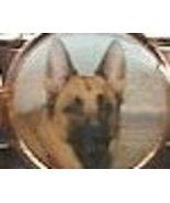 German Shepherd Italian Charm Link 9 MM            - $9.95