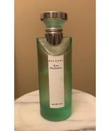 USED Bvlgari Eau Parfumee Au The Vert EDC Spray 75ml Perfume Eau de Cologne - $47.27