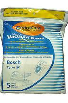 Bosch Tipo P Genérico Bolsas para Aspiradora BOR-1446 - $8.96