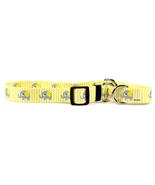 Medium Yellow Elephant Martingale Dog Collar 20... - $11.99