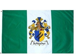 Schleicher Coat of Arms Flag / Family Crest Flag - $29.99