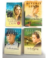 Beverly Lewis The Brethren, Longing, Forbidden, Amish Fiction 4 Books Lo... - $13.85