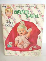 Original Cheerful Tearful 2 Paper Doll Whitman ... - $37.05