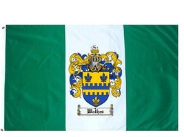 Wathes Coat of Arms Flag / Family Crest Flag - $29.99
