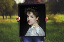 "Gabrielle Cot - Bouguereau - Art Print - 13"" x 19"" - Custom Sizes Available - $25.00"