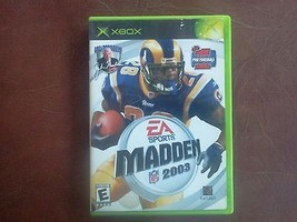 EA Sports Madden 2003 Xbox Video GAME  - $12.87