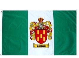 Turgeon Coat of Arms Flag / Family Crest Flag - $29.99