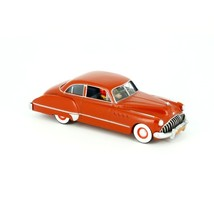 The Red Buick Roadmaster -The Black Gold Voiture Tintin cars Editions Atlas 1/43