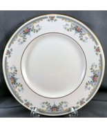 "Royal Doulton Juliet Salad Plate 8"" Ivory Bone China Floral Luncheon H-5077 - $9.90"