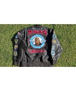 Tuskegee Airmen Leather Jacket 332 REDTAILS US AIR FORCE MILITARY STYLE ... - $223.25