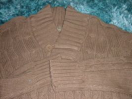 Mens Brown long sleeve sweater by Johnny J Expresso long sleeve sweater ... - $20.47+