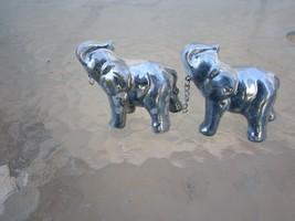 Elephant with Calf Figurine Miniature Figure Elephant Decorative Figure #27 - $6.86