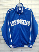 Los Angeles City Logo Track Soccer jacket City of Los Angeles Baseball J... - $34.20