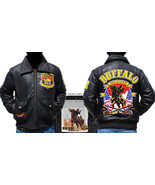 United States Army Buffalo Solider Leather Jack... - $266.00