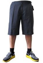Gray twill walking shorts Mens gray skater casual walking shorts SZ 30-40 - $19.50