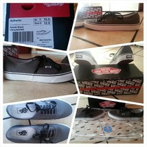Vans Skateboarding Gray Vans Doren Gray Low Top Skater Shoes Size 10.5 - $27.93