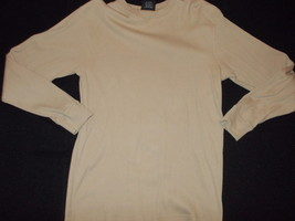 Brown long sleeve thermo t shirt South Pole long sleeve brown thermal sh... - $13.97