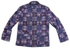 Purple Plaid long sleeve jacket URBAN REPUBLIC Plaid Coat Jacket Mens Ja... - $36.10