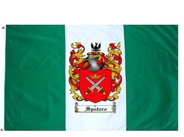 Spataro Coat of Arms Flag / Family Crest Flag - $29.99