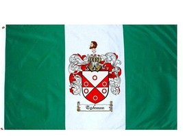 Tydeman Coat of Arms Flag / Family Crest Flag - $29.99