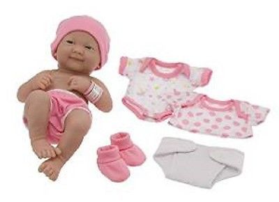 Real Life Doll Set Lifelike Realististic Baby Girl Vinyl With Accessories