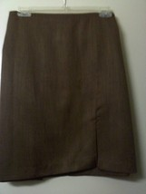 Brown Mini Short Skirt Size 22 - $14.99