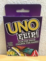 BRAND NEW UNO FLIP Card Game by Mattel Double Sided - $11.95