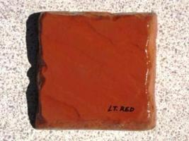 413-25 Light Red Concrete Color Powder 25 lbs. Make Cement Stone Pavers Bricks image 2