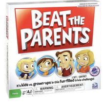 NEW Beat The Parents Board Game New Factory Sealed Family Fun Trivia Game - $17.94
