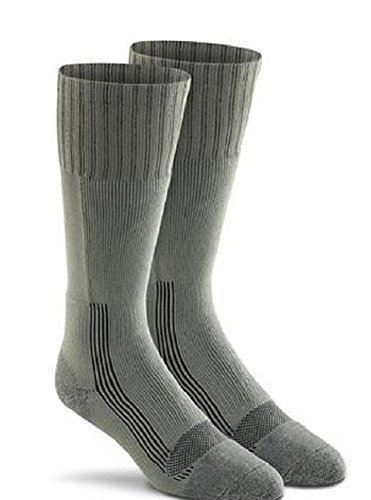 Fox River Men's Wick Dry Maximum Mid Calf Military Sock, 3 PAIR-COYOTE BROWN