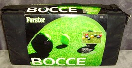 Vintage•S/400•New•Sealed•Unopened•Forster•Bocce Ball Set•Includes Carryi... - $79.99