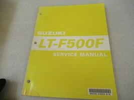 Suzuki 1999 LT-F500F Service Manual P/N 99500-44020-01E - $23.59