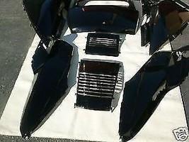 SET OF BLACK HONDA HELIX CN250 FUSION CN 250 SCOOTER UPPER PANELS - $199.00