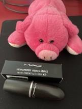 Mac Cosmetic Satin Lipstick SNOB 100% Authentic Full Size .1 Oz 3g NIB - $22.76