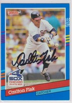 Carlton Fisk Signed Autographed 1991 Donruss Baseball Card - Chicago Whi... - $19.99