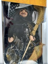 Cracker Barrel Fiber Optic Halloween Light Up Witch Masquerade Party - $29.69